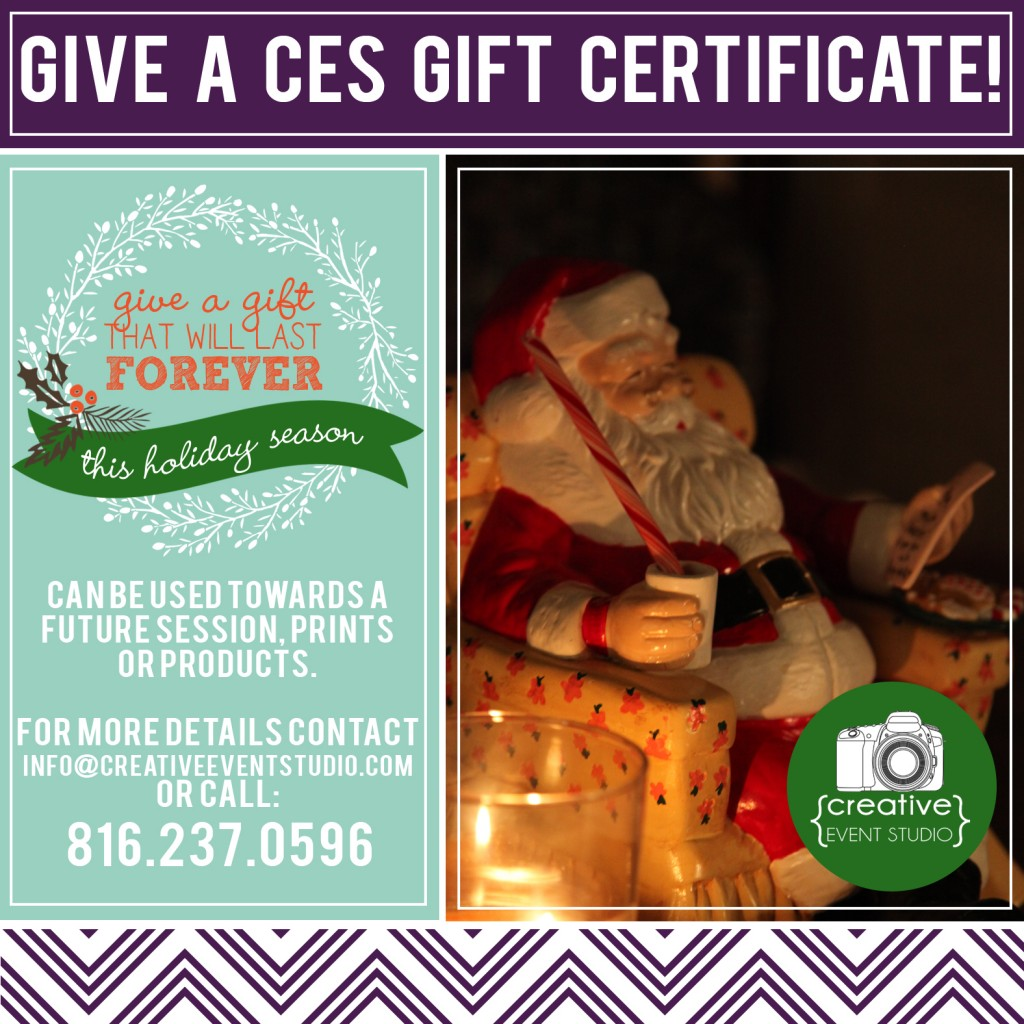 Now Scheduling Holiday Photo Sessions!