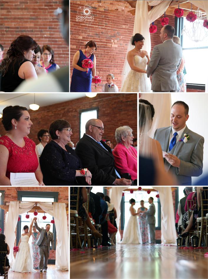 Adam & Sara's Town Square Paola, KS Wedding Part II  {Real Weddings}