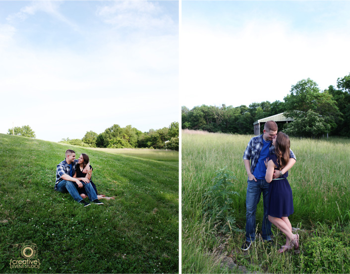 Brandon & Katie (Kansas City Engagement Session)