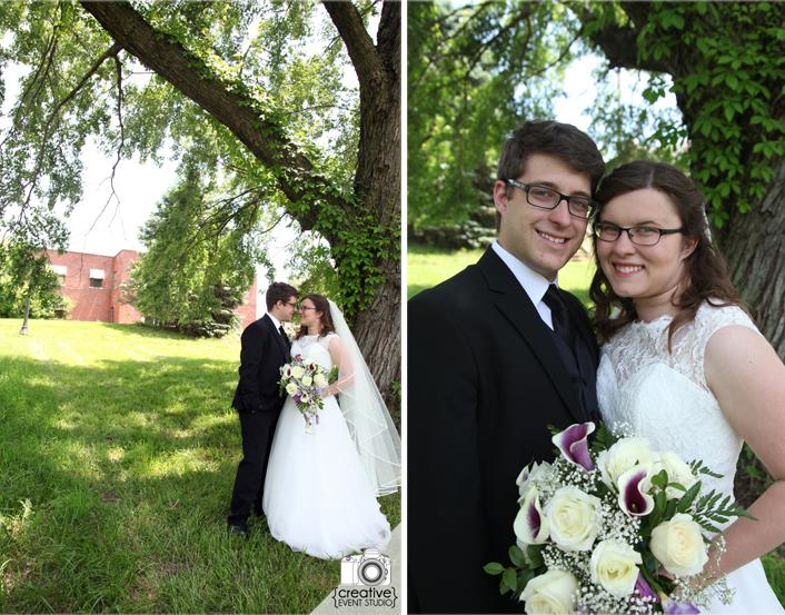Ryan & Katrina's Outdoor Wedding at The Wynbrick {Liberty, MO Wedding Photographer}