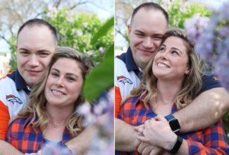Samantha & Brian's Loose Park Spring Engagement Session {Kansas City, Missouri}