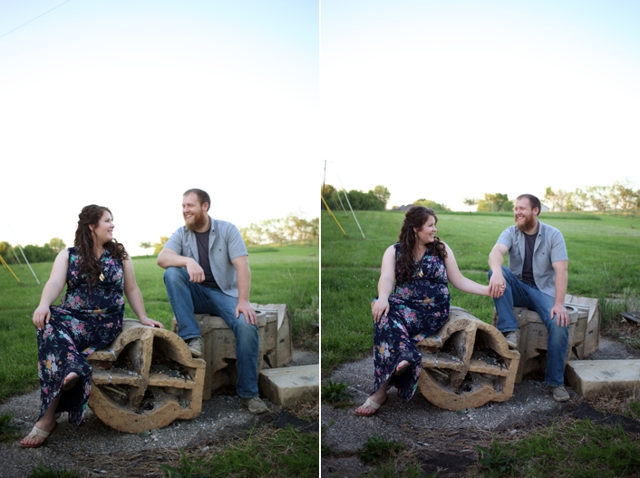 Belvior Winery Engagement Session Sarah and Ginger Photography Kansas City Liberty MO