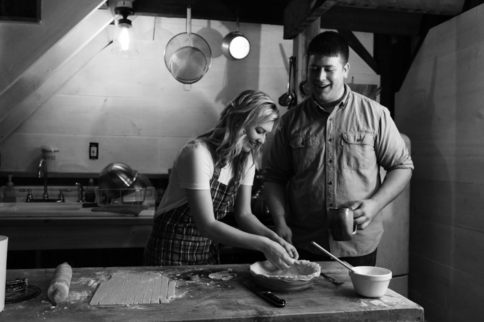 Abby & Dylan Weston, Missouri Bakery Engagement Session