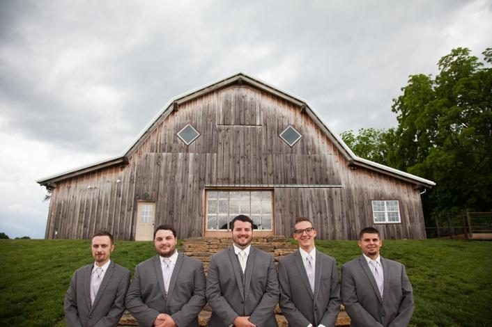 Dakota & Emily Wedding – Kansas City The Barn at Schwinn Produce Farm