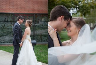 Jerome & Brynne Mission, Kansas Wedding {Cure of Ars Catholic Church}