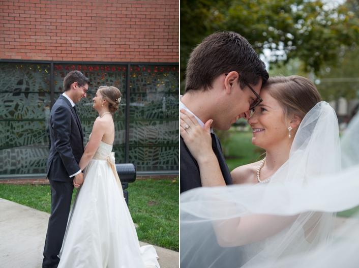 Jerome & Brynne Mission, Kansas Wedding {Cure of Ars Catholic Church}