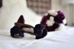 Purple Wedding Accessories at the St. Louis Hyatt Regency