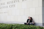 Kansas City Crossroads Urban Downtown Hipster Engagement Session Graffiti Wedding Photographer