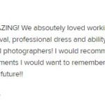5 star review Kansas City Wedding Photography Wedding Wire