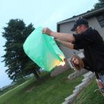Kansas City Wedding Photography Ginger Weseloh Creative Event Studio Outdoor wedding in Coin Iowa Wish Lanterns