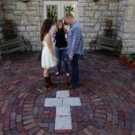 Kansas City Wedding Photography Ginger Weseloh Creative Event Studio Engagement Session Weston, MO Catholic Church