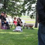Kansas City Wedding Photographer Sarah Gaikwad Creative Event Studio at an outdoor ceremony
