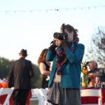 Kansas City Wedding Photographer Sarah Gaikwad photographing a brisk fall DIY wedding, SnapChat PhotosByCES