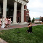 Kansas City Wedding Photographer Ginger Weseloh with Creative Event Studio at William Jewell College in Liberty MO